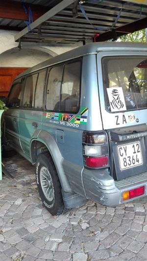 1994 Mitsubishi Pajero 5 door 3.2DI D GLS