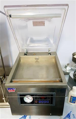 VACUUM SEALER – VACUUM PACKAGING MACHINE – CHAMBER VACUUM SEALER – MEAT SEALER FOR SALE – CLING WRAP