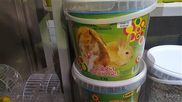 Daro Rabbit Gourmet 5kg Buckets now available at PETS4LIFE BRACKENFELL