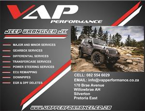 Jeep Wrangler Services