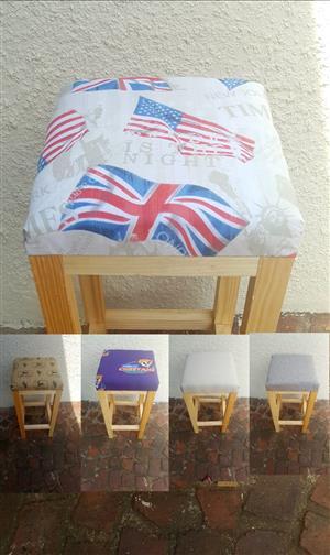 Custom built bar stools