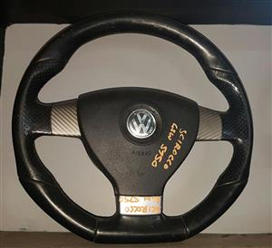 VW SCIROCCO USED STEERING WHEEL FOR SALE