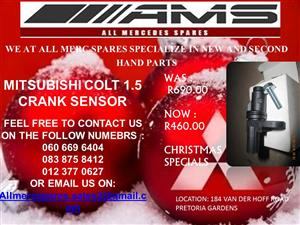 CHRISTMAS SPECIALS!! MITSUBISHI COLT 1.5 CRANK SENSOR FOR SALE