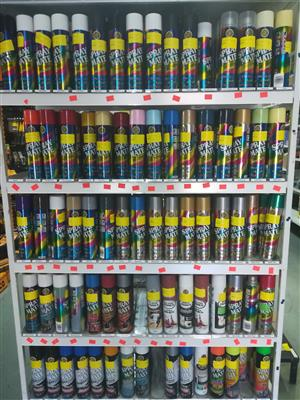 ASATICO bolt and tool - Spray Paint