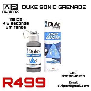 Self-defence sonic grenade