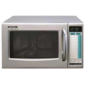 MICROWAVE SHARP - SEMI COMMERCIAL - 1000W - MWS1000