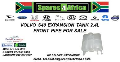 VOLVO S40 EXPANSION TANK 2.4L FRONT PIPE FOR SALE