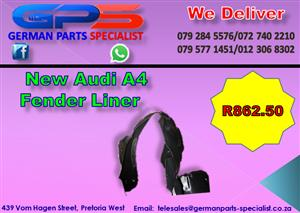 New Audi A4 Fender Liner for Sale
