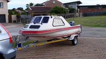 Sportster cabin boat for sale