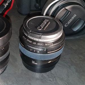 Canon 50mm f1.4 prime lens.