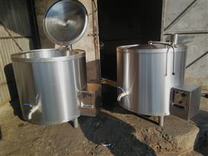 New 225 liters gas cooking pots for sale