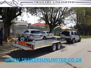 3500 Kg DOUBLE AXLE CAR TRAILER