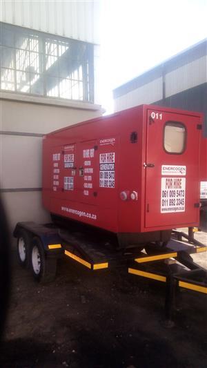 150 KVA Cummins silent diesel generator