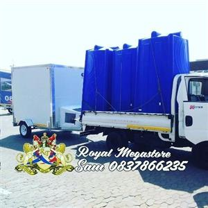 Spring Sale on Tents Mobile Freezers VIP Toilets Plastic Toilets