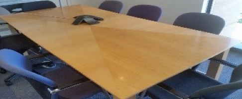8-Seater Boardroom Desk