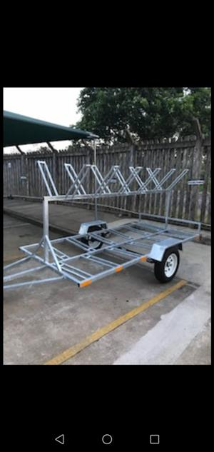 BICYCLE TRAILER FOR HIRE- 12 BIKE CARRIER