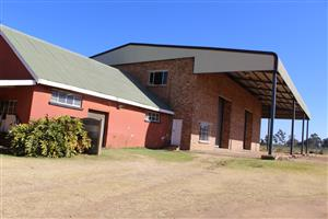 BENONI-INDUSTRIAL USAGE-12 HA.-WORKSHOP- APPROX 899 Sq M-HIGH  ENTRANCE-ON GOOD MAIN Rd.- SEE!!!