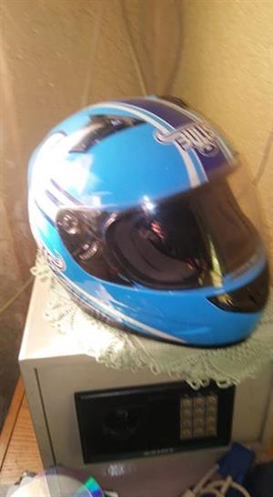 Blue bulls helmet