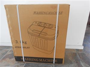 Mini Twin Tub Washing Machines - 3 kg