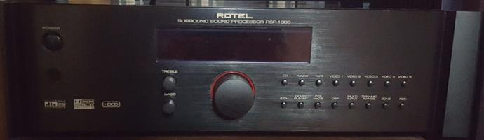 Rotel surround sound processor to swap for Rotel stereo pre-amp