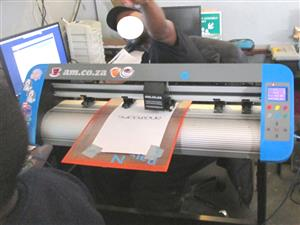 V3-748B V-Smart Contour Cutting Vinyl Cutter 740mm Working Area, Stand & Collection Basket