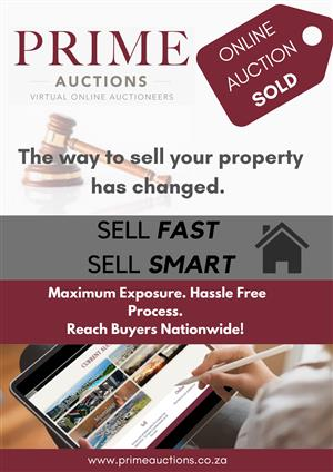 Pirme Auctioneers -The way you sell your house has changed