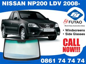 Brand new windscreen for sale for Nissan NP200 LDV 2008- #200113