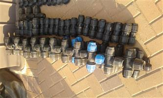 Plasson fittings various selection 40mm , 32mm, 25mm QTY: 420