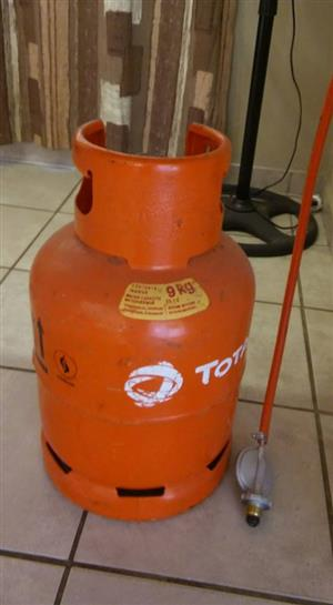 Orange gas bottle for sale