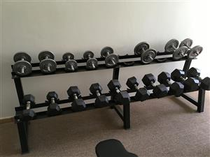 Gym equipment in excellent condition