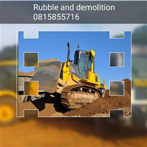 Tipper trucks and demolition services