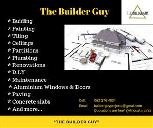 The Builder Guy - Building With Passion
