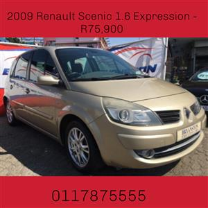 2009 Renault Scénic 1.6 Expression