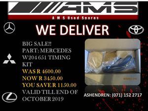 MERCEDES W204 651 TIMMING KIT