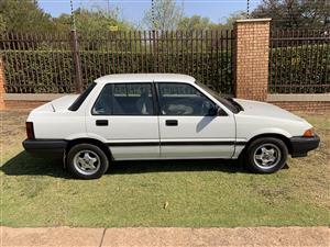 1985 Honda Ballade 1.5 Comfort automatic
