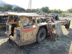 Haul Dumpers, Casette Carriers and Roof Bolters on Auction