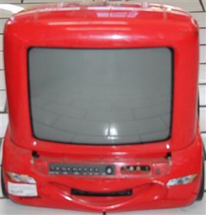 S035609A 34cm disney lightning mcqueen tv with builtin dvd player (not working) #Rosettenvillepawnshop