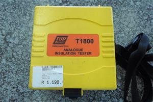 Top Tronic T1800 Analogue Insulation Tester
