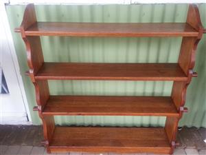 Oak Craft Bookshelf