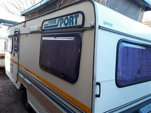 sprite sport 6 bed with full tent in excellent condition must be seen