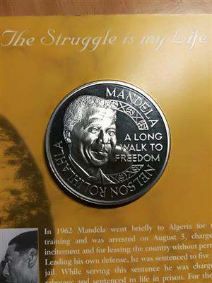 Nelson Mandela Limited edition - 1oz Silver Medallion / Coin