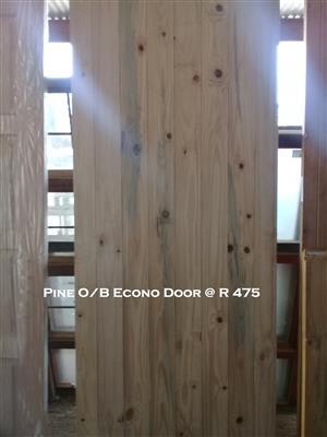 New Pine O/B Econo Door