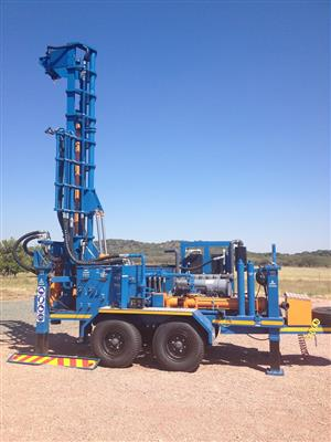 TT300 Double Axle Drill Rig