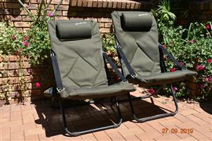 2 Kaufmann Reclining  Chairs.
