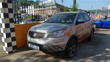 Stripping or can be sold as a complete [2012 SSANGYONG KORANDO 2.0L TURBO DIESEL