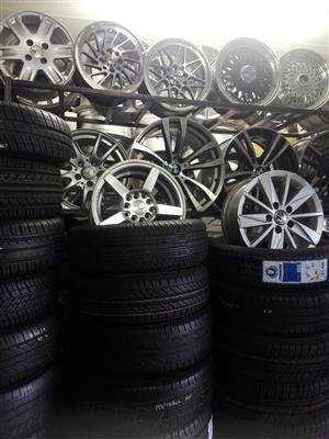 Used second hand tyres and mags,rims plus Mag Repairs