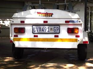 Venter trailer with double bike carrier for sale - Randburg