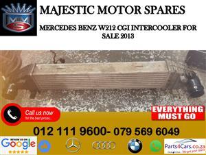 Mercedes benz W2121 intercooler for sale