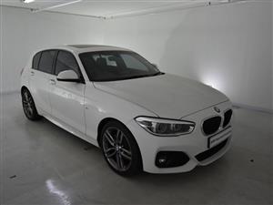 2019 BMW 1 Series 120d 5 door M Sport sports auto