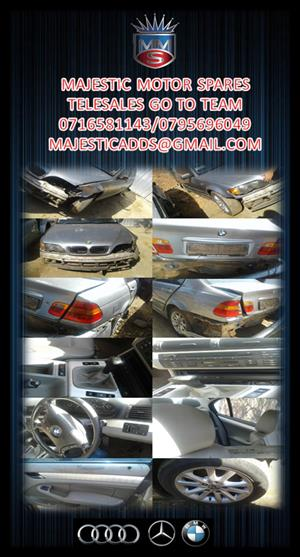 BMW 325I E46 FACELIFT STRIPPING FOR SPARES.,